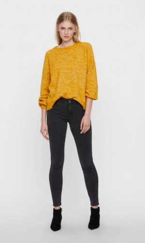 Жіночі завужені еластичні джинси